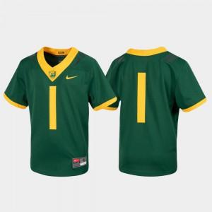 Football Green Kids Baylor Jersey #1 Untouchable