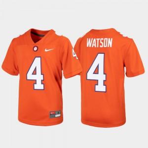 For Kids Orange Alumni Football Game #4 Deshaun Watson Clemson Jersey