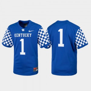 Royal Replica UK Jersey Youth College Football #1