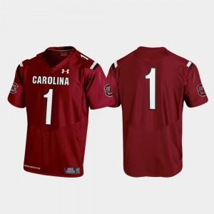 For Kids #1 Garnet Replica South Carolina Jersey Football 2019