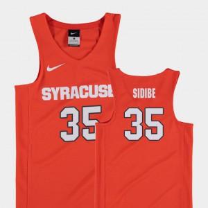 Replica For Kids Bourama Sidibe Syracuse Jersey #35 College Basketball Orange