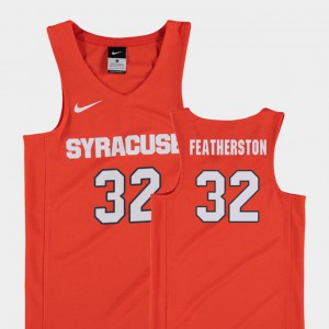 Ray Featherston Syracuse Jersey College Basketball #32 For Kids Orange Replica