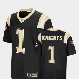 UCF Jersey Black Youth #1 Colosseum Foos-Ball Football