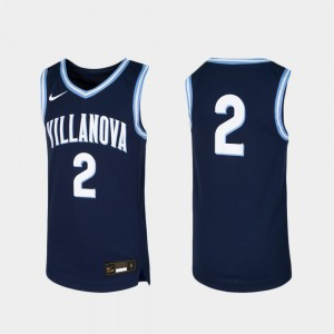 Villanova Jersey #2 For Kids Basketball Replica Navy